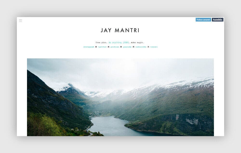 Free photos for your blog from Jay Mantri