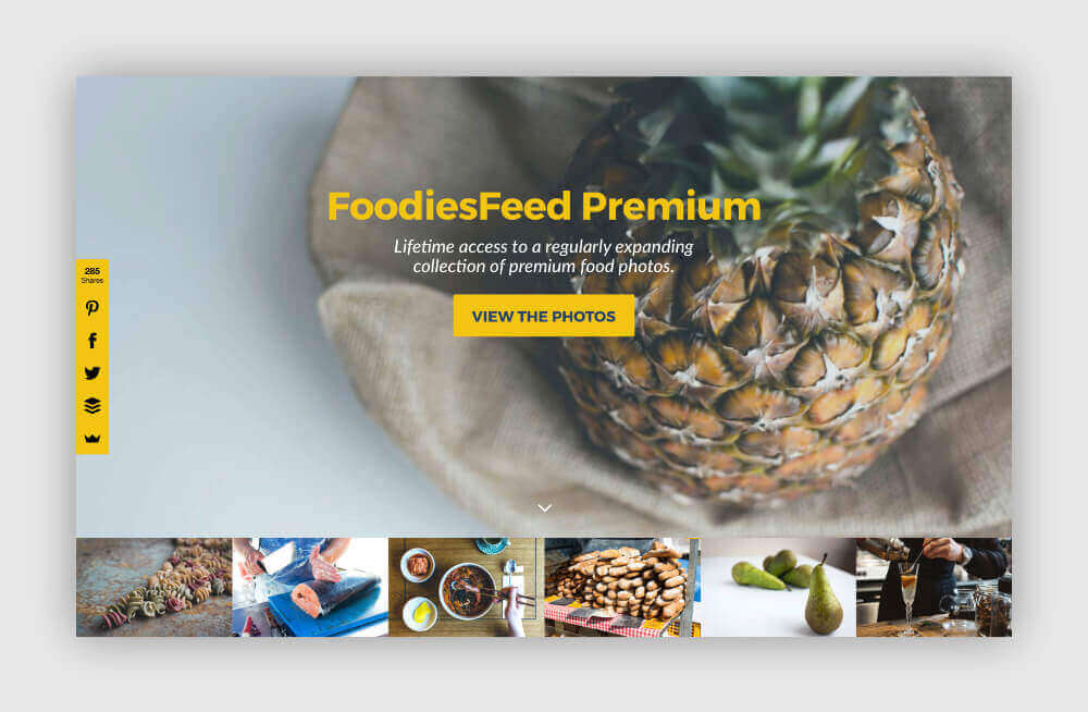 Free photos for your blog from Foodies Feed