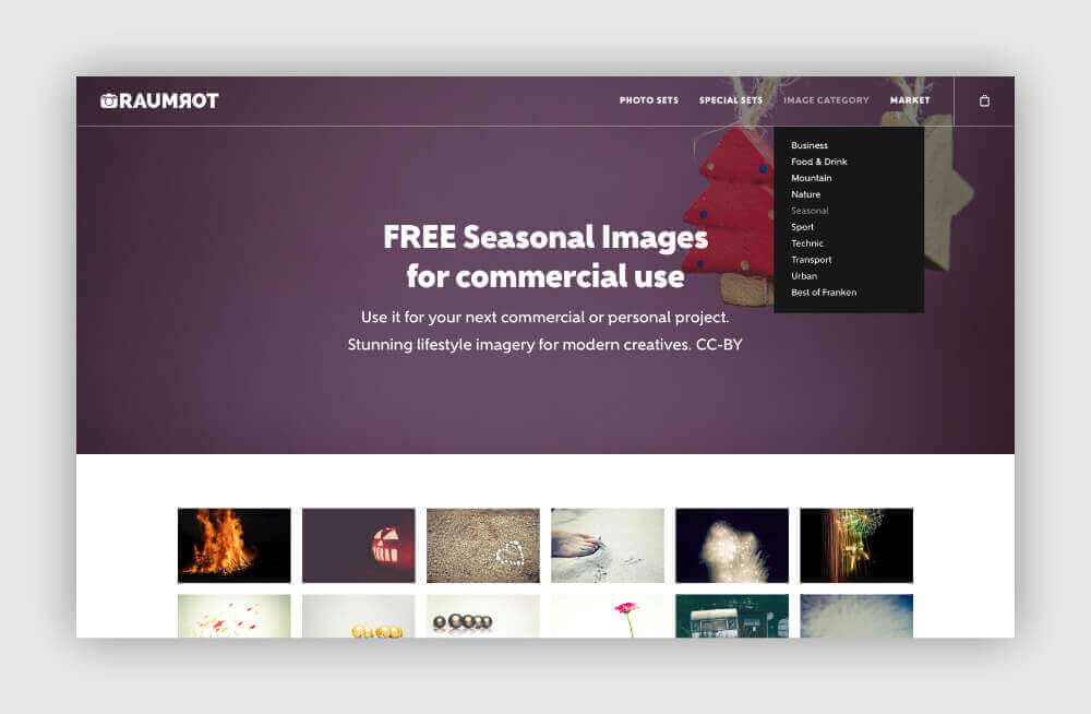 Free photos for your blog from Raumrot