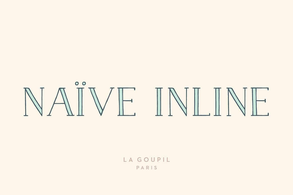 Best Fonts For Logos: Naive Inline